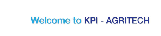 Weclcome to KPI - Agritech